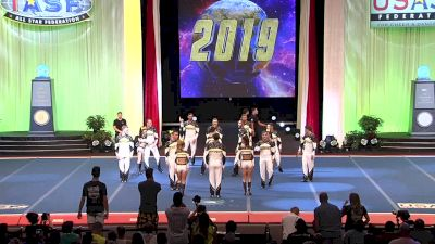 Outlaws Allstars - Notorious (Australia) [2019 L5 International Open Large Coed Finals] 2019 The Cheerleading Worlds
