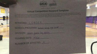 Denham Springs High School [Game Day Varsity] 2020 UCA Virtual Regional