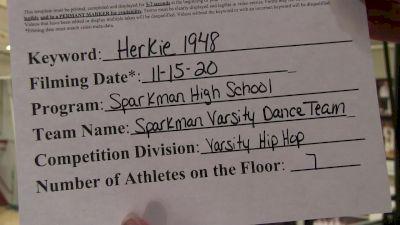 Sparkman High School [Small Varsity Hip Hop] 2020 NDA November Virtual Championship
