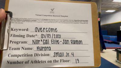 Nor Cal Elite All Stars - San Ramon - Aurora [L4 Junior - Small] 2021 Spirit Sports: Virtual Duel in the Desert