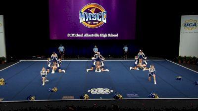St Michael Albertville High School [2021 Small Non Tumbling Finals] 2021 UCA National High School Cheerleading Championship