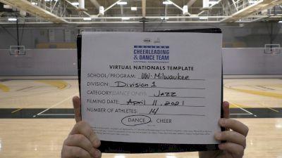 University of Wisconsin-Milwaukee [Virtual Division 1 - Jazz Semi Finals] 2021 UCA & UDA College Cheerleading & Dance Team National Championship