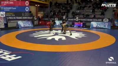 65kg Semifinal, James Green (USA) vs Turan Bayramov (AZE)