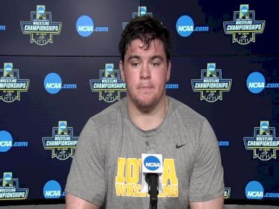 Anthony Cassioppi (Iowa) after placing third at the 2021 NCAA Championships