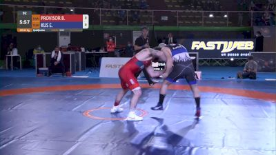 82KG - Benjamin Errol PROVISOR, USA vs Emrah KUS, TUR
