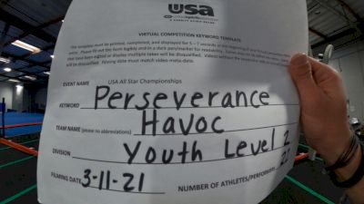 Cheerforce San Diego - CheerForce Havoc [L2 Youth] 2021 USA All Star Virtual Championships