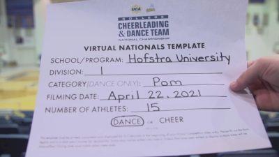 Hofstra University [Virtual Division I Pom Finals] 2021 UCA & UDA College Cheerleading & Dance Team National Championship