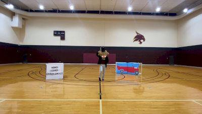 Texas State University [Virtual Mascot Division IA Semi Finals] 2021 UCA & UDA College Cheerleading & Dance Team National Championship