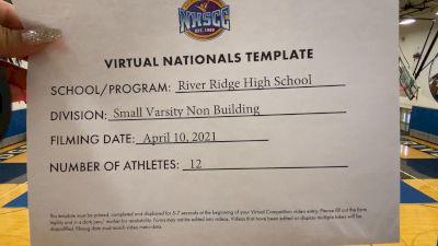 River Ridge High School [Virtual Small Varsity Non Building Finals] 2021 UCA National High School Cheerleading Championship