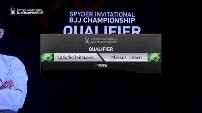 Claudio Calasans vs Marcos Tinoco 2019 Spyder BJJ Qualifier