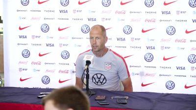 U.S. Men's National Team Head Coach Gregg Berhalter Press Conference