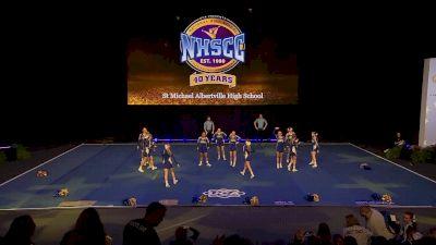 St Michael Albertville High School [2020 Small Varsity Non Tumbling Prelims] 2020 UCA National High School Cheerleading Championship