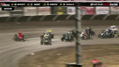 Flashback: USAC Indiana Sprint Week at Tri-State 7/27/19