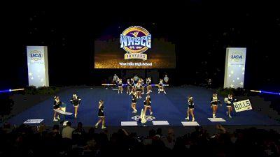 West Hills High School [2020 Large Varsity Coed Non Tumbling Semis] 2020 UCA National High School Cheerleading Championship