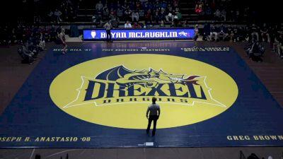 285 lbs Nate Hoaglund, Penn vs Sean O'Malley, Drexel