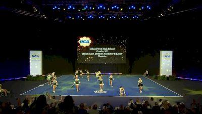 Millard West High School [2020 Small Varsity Non Building Semis] 2020 UCA National High School Cheerleading Championship