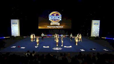 Wayne County High School [2020 Large Varsity Coed Non Tumbling Semis] 2020 UCA National High School Cheerleading Championship