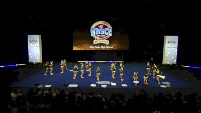 Mira Costa High School [2020 Junior Varsity Non Tumbling Semis] 2020 UCA National High School Cheerleading Championship