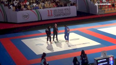 Gabrieli Pessanha vs Shantelle Thompson Abu Dhabi World Professional Jiu-Jitsu Championship