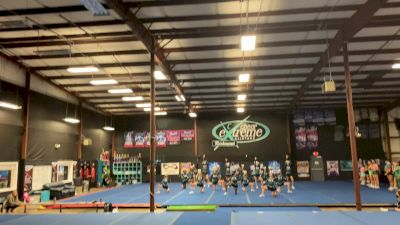Cheer Extreme - Richmond - Lime Ladies [L1 - U17] 2021 Varsity All Star Winter Virtual Competition Series: Event IV