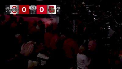 125lbs Match - Dominic LaJoie, Cornell vs Malik Heinselman, Ohio State