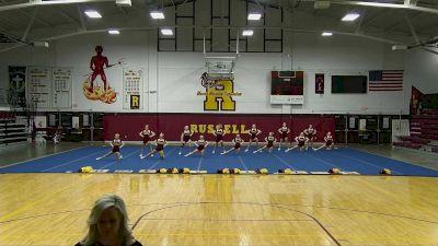 Russell Middle School [Virtual Junior - Non-Building Finals] 2021 UCA National High School Cheerleading Championship