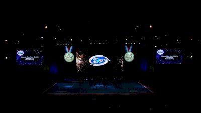 University Cheer Force - Black Ice [2021 L3 Senior (5-18) Day 1] 2021 UCA International All Star Championship