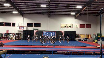 American Cheer - JR WHITE [L1 Junior - Medium] 2021 The Regional Summit Virtual Championships