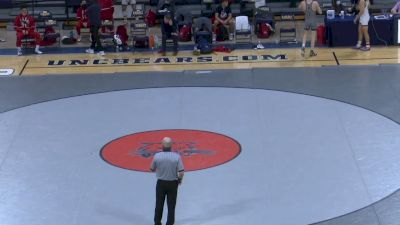 157- Alex Hornfeck (West Virginia) vs Christopher Gaxiola (Fresno State)