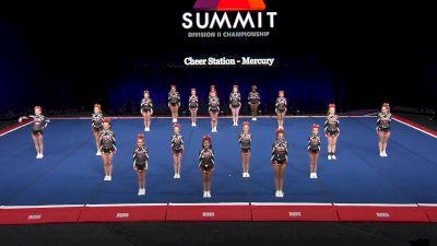 Cheer Station - Mercury [2021 L3 Junior - Small Wild Card] 2021 The D2 Summit