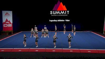 Legendary Athletics - Valor [2021 L4 Junior - Small Finals] 2021 The D2 Summit