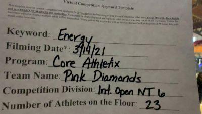 Core Athletix - Pink Diamonds [L6 International Open - NT] 2021 Beast of The East Virtual Championship