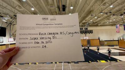 Rock Canyon High School [Super Varsity] 2021 UCA February Virtual Challenge