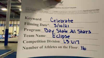 Bay State All Stars - Eclipse [L3 - U17] 2021 Spirit Festival Virtual Nationals