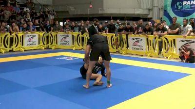 Hugo Marques vs Matheus Gabriel Middleweight Final 2021 Pan IBJJF Jiu-Jitsu No-Gi Championship Flozone