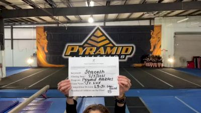 Pyramid Athletics - Jr. Lux [L3 Junior - Non-Building] 2021 Varsity All Star Winter Virtual Competition Series: Event II