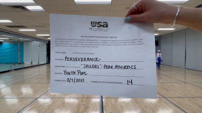 Peak Athletics - Sailors [Youth - Pom] 2021 USA All Star Virtual Championships