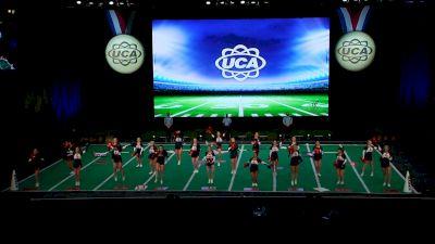 Hardin Jefferson High School [2021 Large Game Day Div II Semis] 2021 UCA National High School Cheerleading Championship