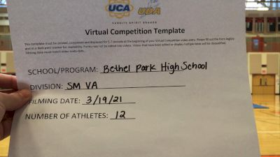 Bethel Park High School [Small Varsity] 2021 UCA & UDA March Virtual Challenge