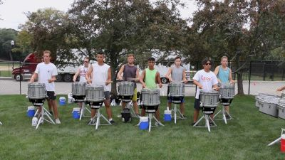 2021 Bluecoats Drumline | Rehearsal Warmup