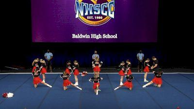 Baldwin High School [2021 Large Coed Non Tumbling Finals] 2021 UCA National High School Cheerleading Championship