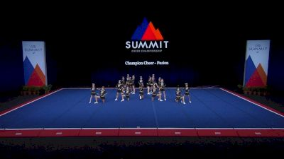 Champion Cheer - Fusion [2021 L4 Junior - Small Finals] 2021 The Summit