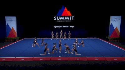 GymTyme Illinois - Snap [2021 L4 Junior - Small Finals] 2021 The Summit