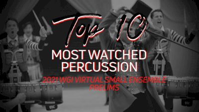Top 10: Most Watched Percussion - WGI Virtual Small Ensembles Prelims