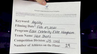 East Celebrity Elite - Hingham - HOTSHOTS [L5 Junior] 2021 Varsity All Star Winter Virtual Competition Series: Event III