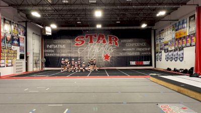Star Athletics - Senior Black [L5 Senior] 2021 Spirit Festival Virtual Nationals
