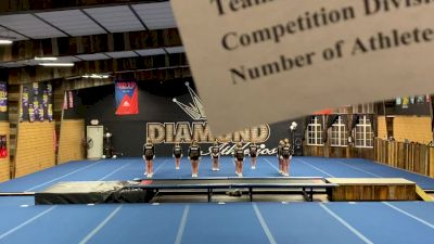 Diamond Athletics - Allure [L1 Youth - D2 - Small] 2021 Varsity All Star Winter Virtual Competition Series: Event I