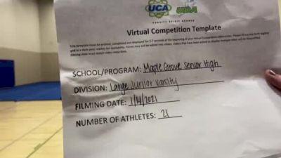 Maple Grove High School [Large Junior Varsity] 2021 UCA January Virtual Challenge