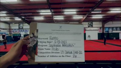 Southern Athletics - PRIDE [L5 Senior Coed - D2] 2021MG Extravaganza Virtual Nationals