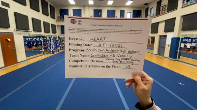 South San Antonio High School [Game Day - Varsity Non Building] 2021 NCA & NDA Virtual February Championship